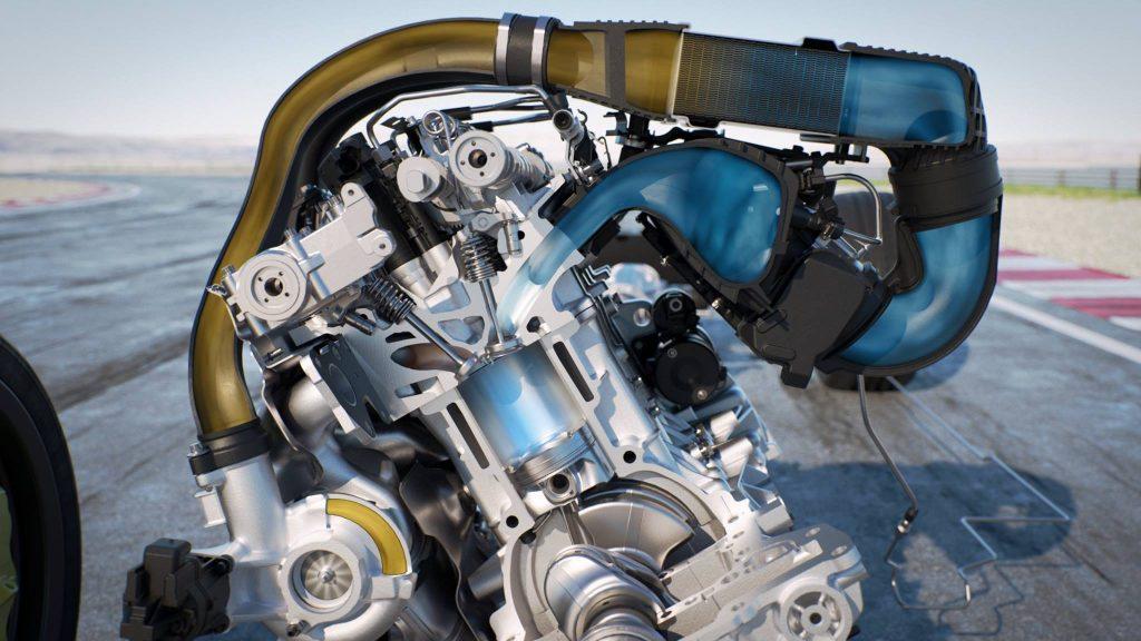 Iniezione acqua motore