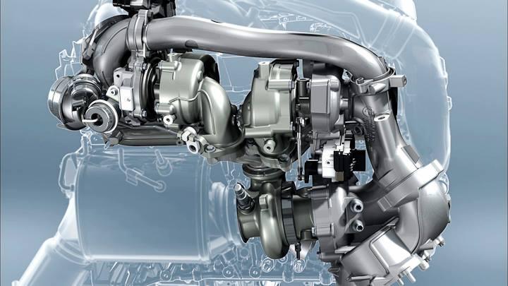 BMW Triturbo diesel